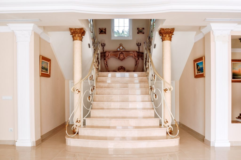 Marble Staircase Entrance