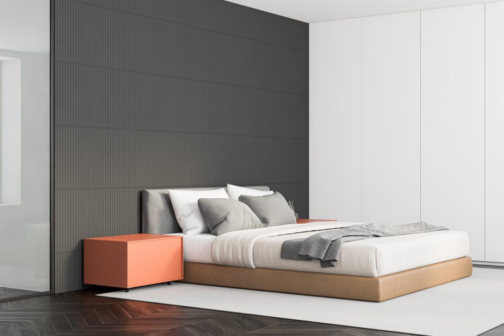 Minimalist Master Bedroom Design for a Modern Mansion