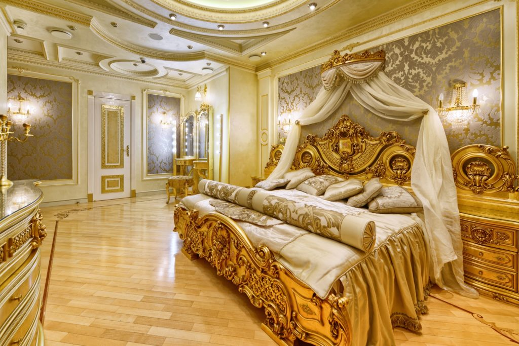 Modern Bedroom Renovation with Antique French Decor