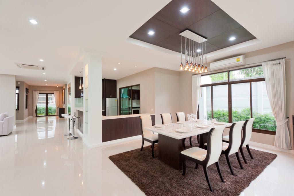 Modern Lights Dining Room