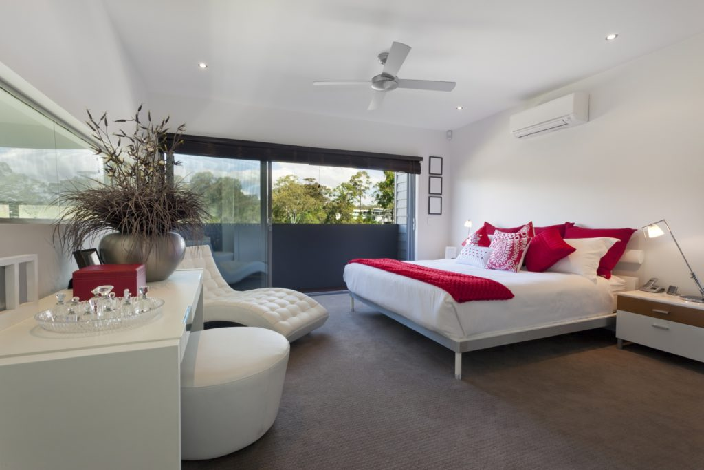 Modern Mansion Bedroom Design with Casual Elegance and Charm