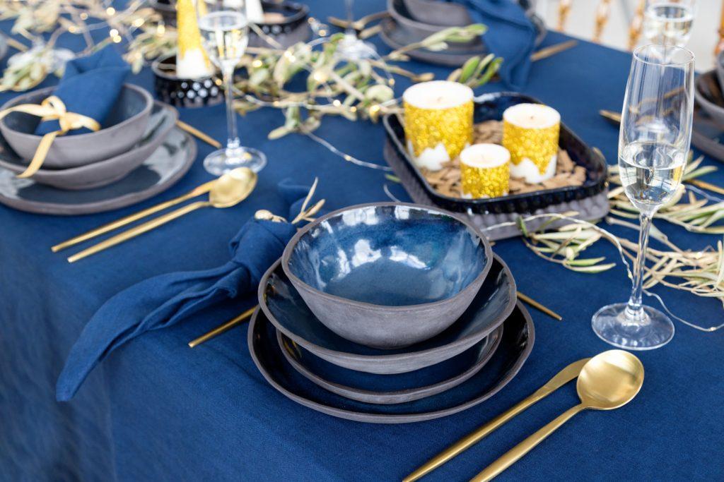 Navy Blue Tablecloths