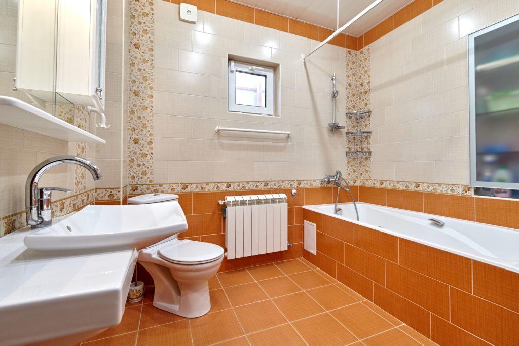 Orange Luxury Bathroom