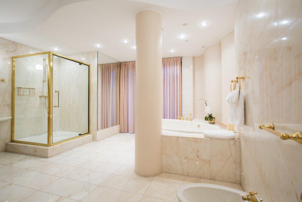 Pastel Luxury Bathroom