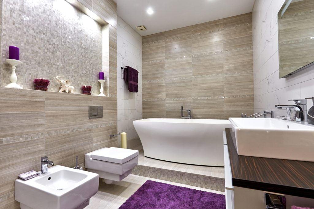 Purple Mansion Bathroom