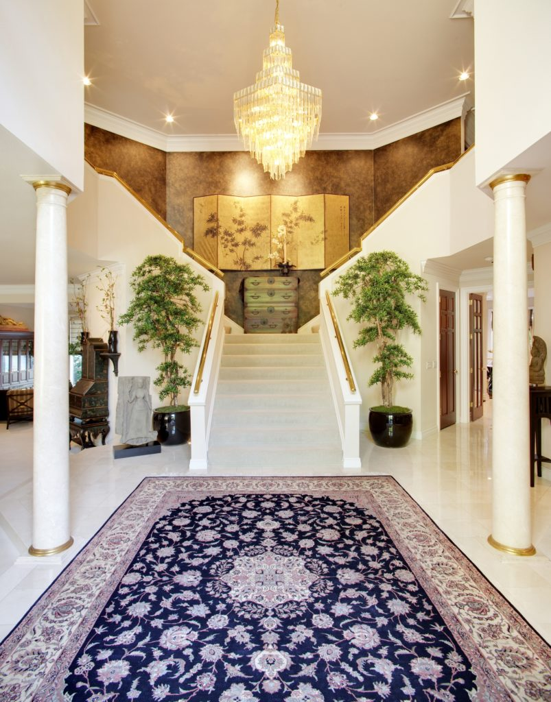 Rug Mansion Foyer