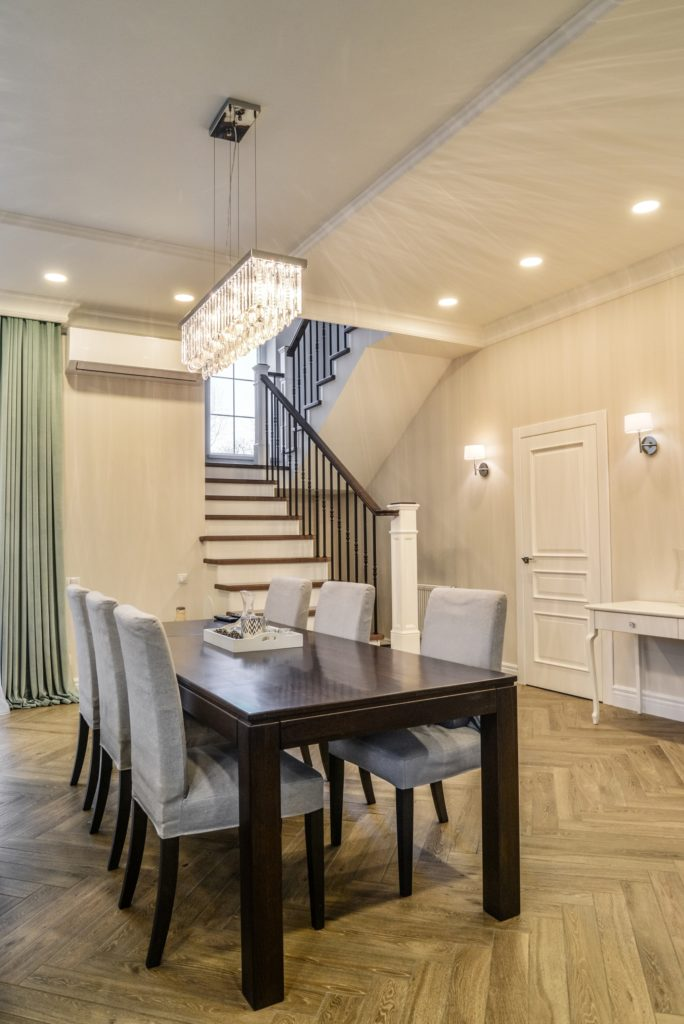 Staircase Dining Room
