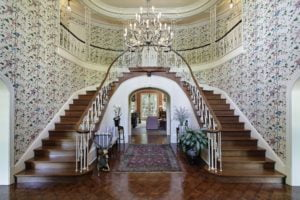 Wallpaper Mansion Foyer