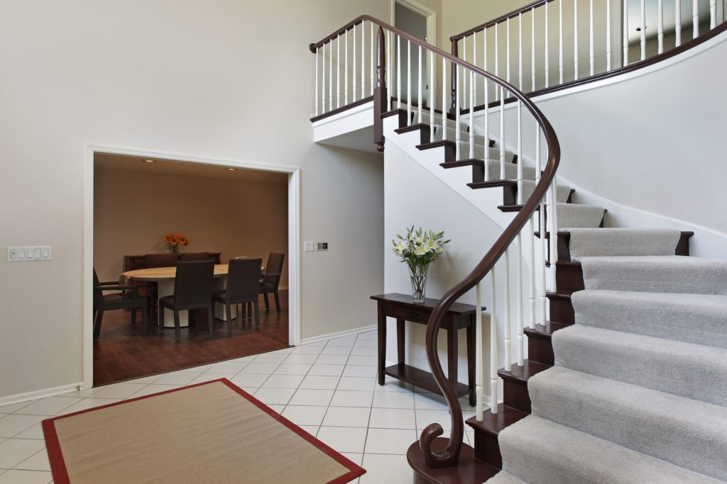 White Mansion Foyer