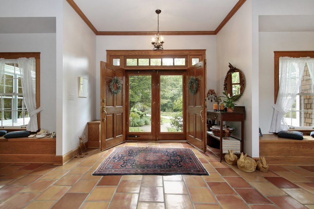 Wood Mansion Foyer
