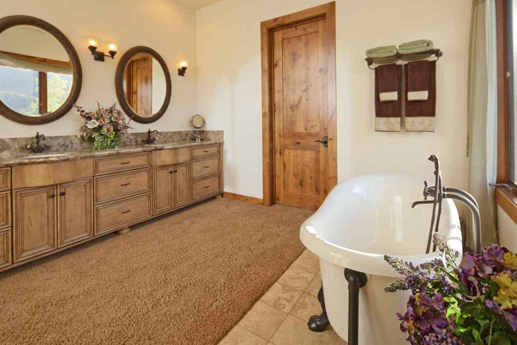 Wooden Luxury Bathroom
