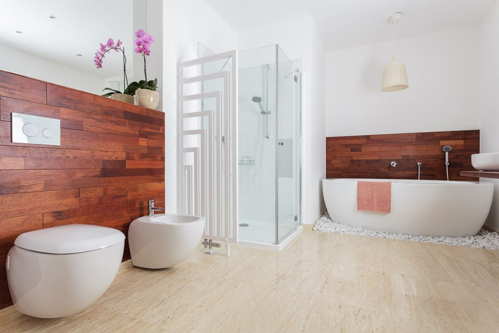 Wooden Mansion Bathroom