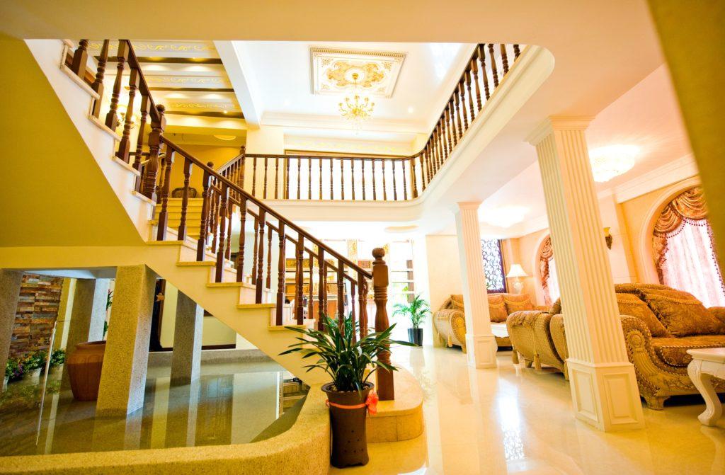 Yellow Mansion Foyer