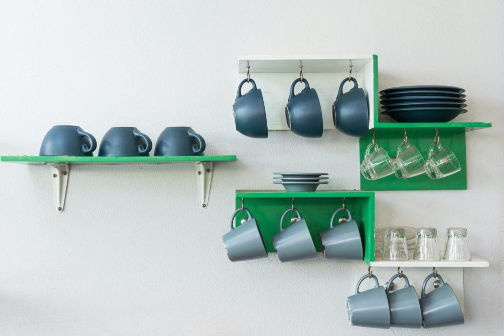 Coffee Mug Shelves