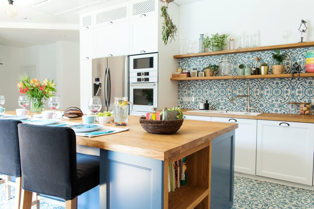 Floral Kitchen