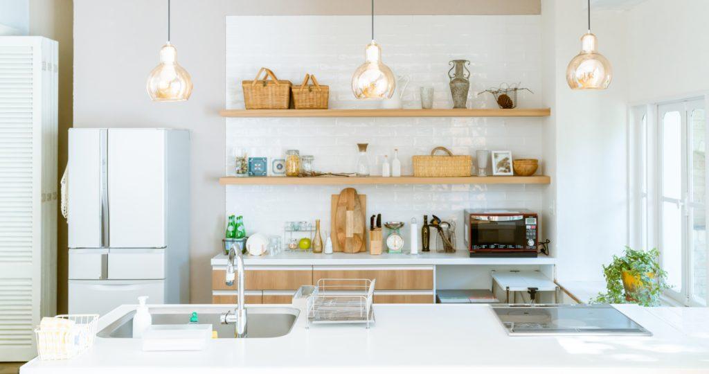 Organized Kitchen Shelf