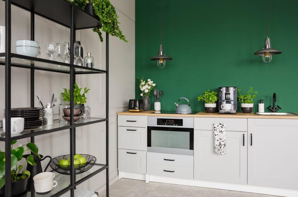 Self-standing Kitchen Shelves