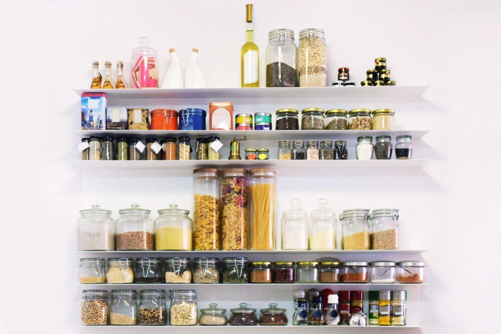 Spices Kitchen Shelves