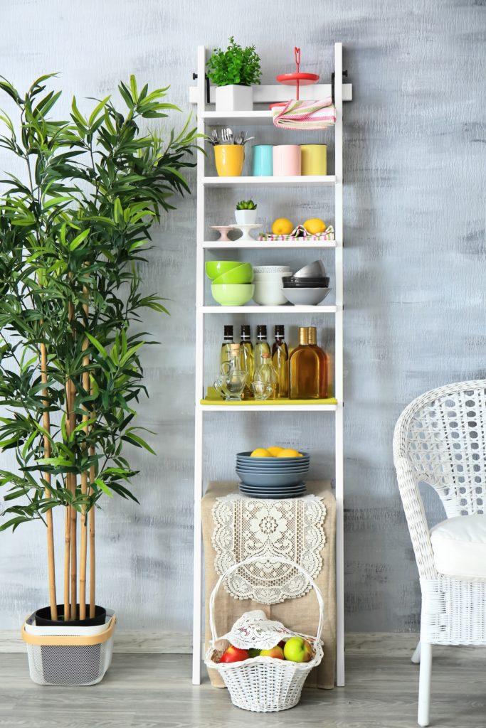 Tall Shelf Stand