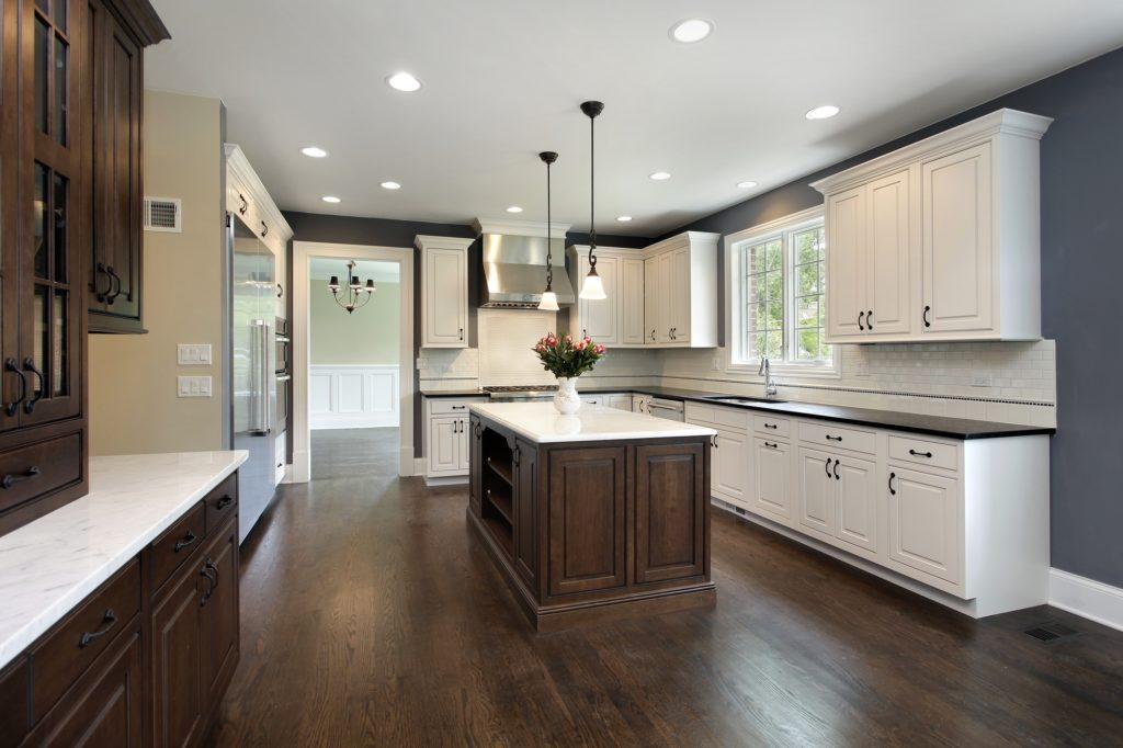 Dark Kitchen Floors