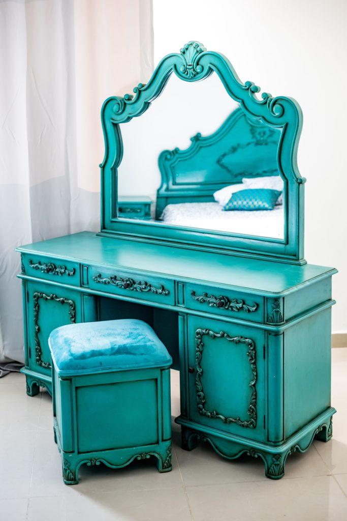 Dresser and Vanity