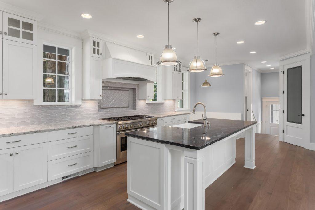 Modern Hardwood Floor Kitchen