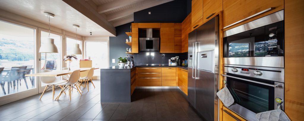 Modern Kitchen Wood Floors