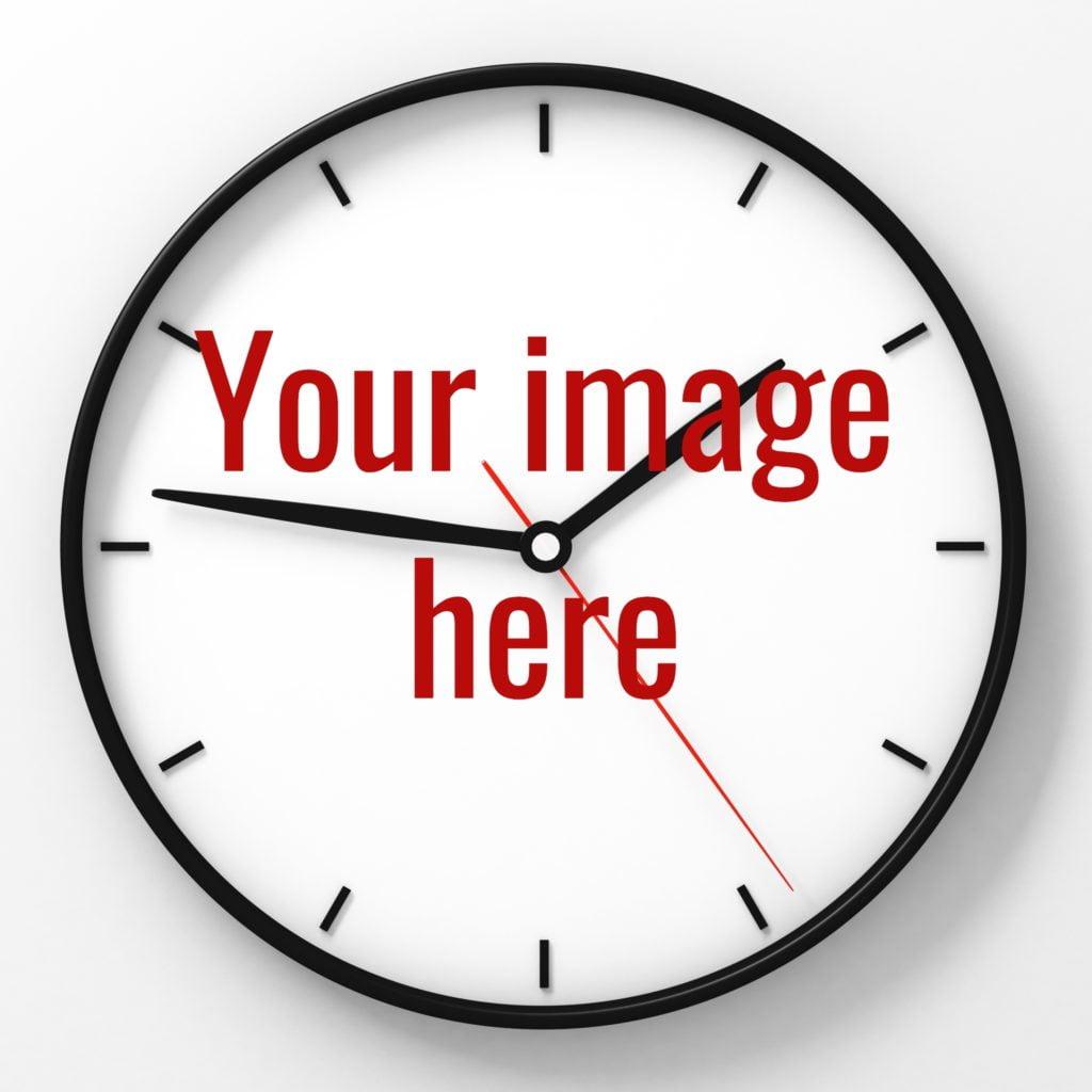 Print on Demand Clock