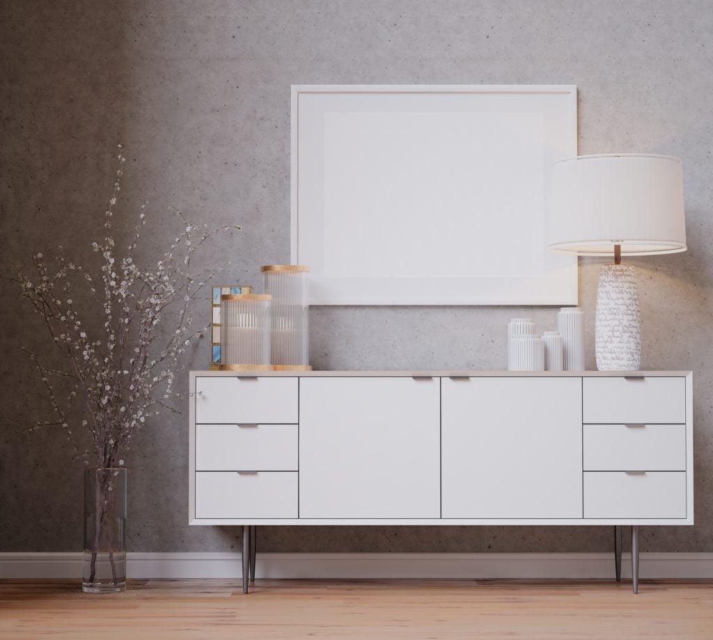 Rectangular Dresser