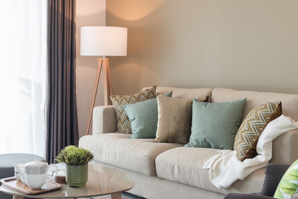 Soft-Colored Pillows