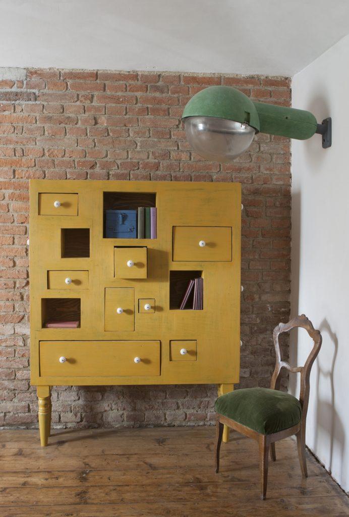 Square Dresser