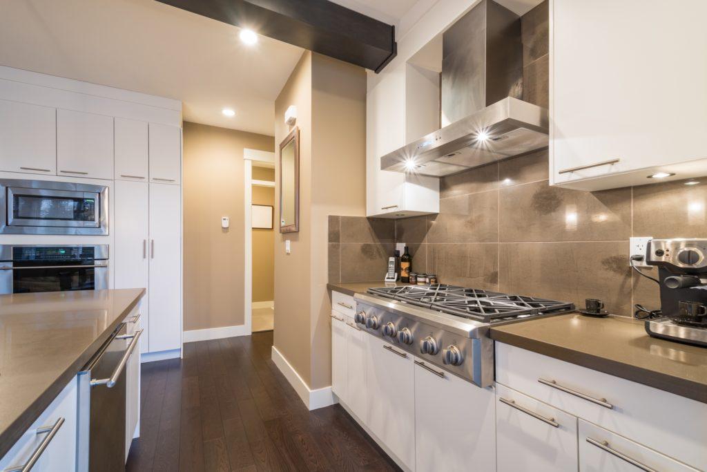 Stainless Steel Appliances Kitchen