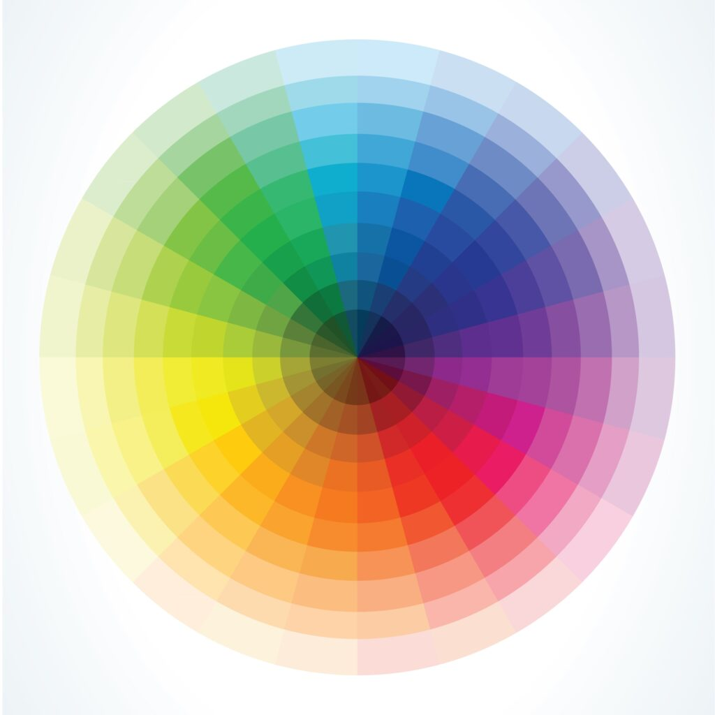 List of Colors That Start With E
