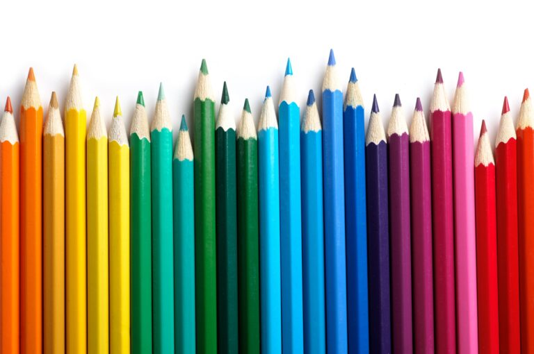List of Colors That Start With P