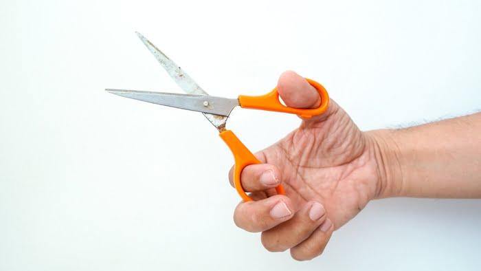 Right handed Scissors