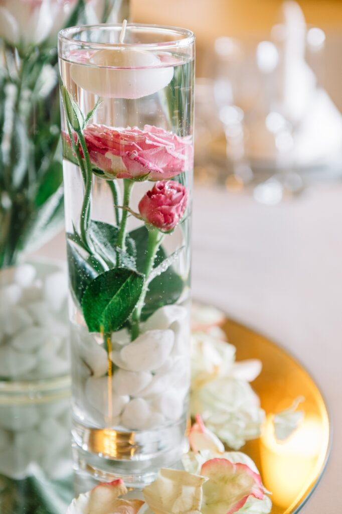 Floating Flowers and Candles