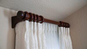 Wooden Curtain Rod