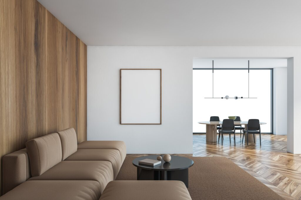Brown and White Walls
