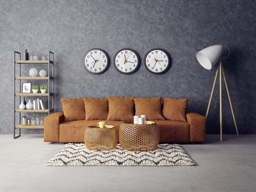 Gray Textured Wall